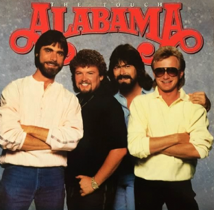 Alabama - The Touch (LP) (VG/EX)